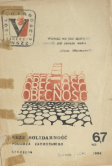 Obecność. 1984 nr 6/7