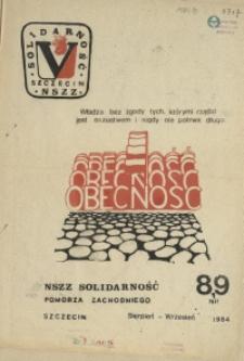 Obecność. 1984 nr 8/9