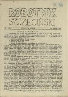 Robotnik Szczeciński. 1980 nr 1