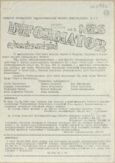 Informator Akademicki : biuletyn informacyjny Międzyuczelnianej Komisji Koordynacyjnej NZS. 1988 nr 2