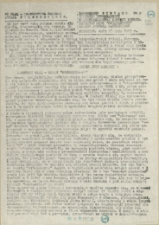 Informacje Bieżące. 1985 z dn. 13. 05.