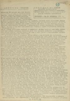 Informacje Bieżące. 1986 z dn. 30. 08.