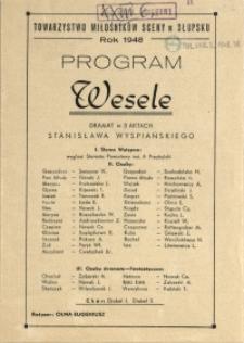 Program : Wesele