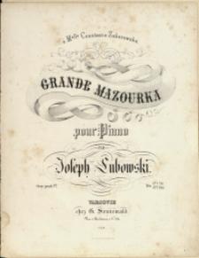Grande Mazourka Oeuv. posth. No 1