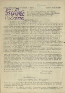 """Nadodrze : dwutygodnik Tajnej Międzyzakładowej Komisji NSZZ """"Solidarność"""". 1983 nr 9"""