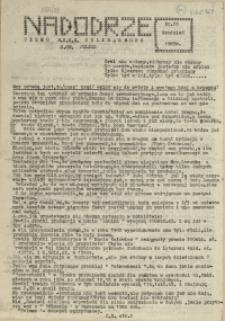 """Nadodrze : dwutygodnik Tajnej Międzyzakładowej Komisji NSZZ """"Solidarność"""". 1985 nr 29"""