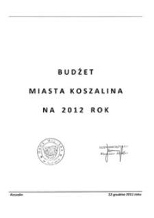 Uchwała Rady Miejskiej w Koszalinie nr XVII/213/2011