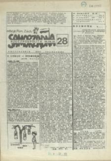 """Samorządna Rzeczpospolita : dwutygodnik NSZZ """"Solidarność"""" : edycja Pomorze Zachodnie. 1986 nr 28"""