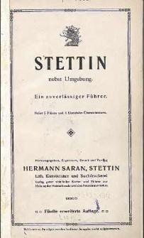 Stettin nebst Umgebung : ein zuverlässiger Führer