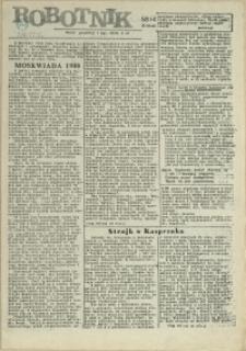 Robotnik : wydanie szczecińskie. 1980 nr 53/4