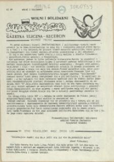 """Solidarność Walcząca : pismo NSZZ """"Solidarność"""" Szczecin. 1989 nr 3"""