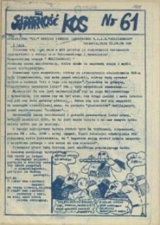 Solidarność KOS. 1984 nr 61