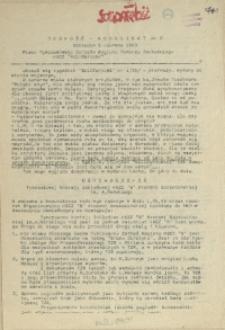 """Jedność - Komunikat : pismo Tymczasowego Zarządu Regionu Pomorza Zachodniego NSZZ """"Solidarność"""". 1989 nr 2"""