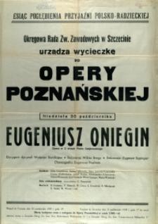 [Afisz. Inc.:] Miesiąc Pogłębiania Przyjaźni Polsko-Radzieckiej