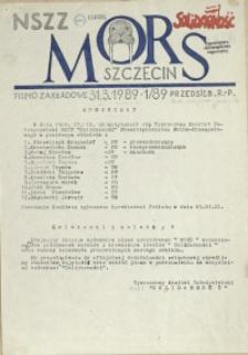 Mors : pismo zakładowe Przedsięb. R.-P. 1989 nr 1