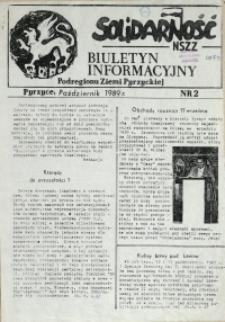 Biuletyn Informacyjny Podregionu Ziemi Pyrzyckiej. 1989 nr 2