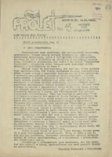 "Prolet : tygodnik NSZZ ""Solidarność"". 1982 nr 13"