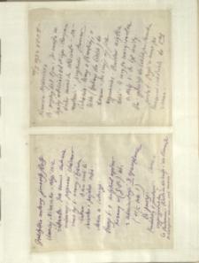 Listy Stanisława Ignacego Witkiewicza do żony Jadwigi z Unrugów Witkiewiczowej. List z 10.01.1933. C.d. listu z 19.01.1933.