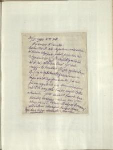 Listy Stanisława Ignacego Witkiewicza do żony Jadwigi z Unrugów Witkiewiczowej. List z 30.01.1933.