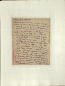 Listy Stanisława Ignacego Witkiewicza do żony Jadwigi z Unrugów Witkiewiczowej. List z 23.05.1933.