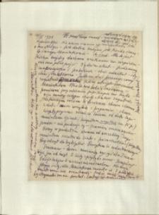 Listy Stanisława Ignacego Witkiewicza do żony Jadwigi z Unrugów Witkiewiczowej. List z 10.04.1934.