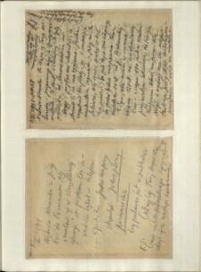 Listy Stanisława Ignacego Witkiewicza do żony Jadwigi z Unrugów Witkiewiczowej. List z 06.07.1934. List z 08.07.1934.