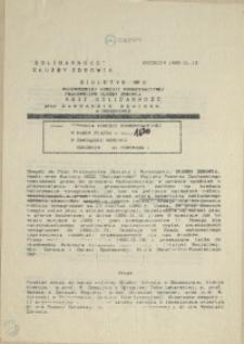 Biuletyn Wojewódzkiej Komisji Koordynacyjnej Pracowników Ochrony Zdrowia. 1990 nr 6