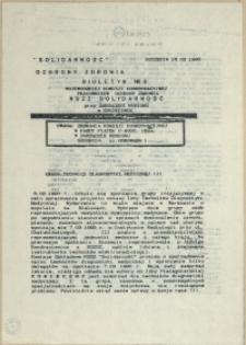 Biuletyn Wojewódzkiej Komisji Koordynacyjnej Pracowników Ochrony Zdrowia. 1990 nr 8