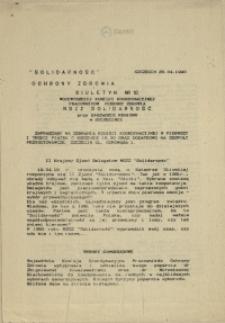 Biuletyn Wojewódzkiej Komisji Koordynacyjnej Pracowników Ochrony Zdrowia. 1990 nr 12