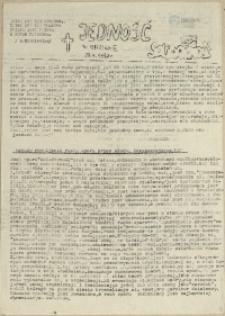 Jedność : Organ Międzyzakładowego Komitetu Strajkowego przy Stoczni im. Adolfa Warskiego. 1982 nr 13/73