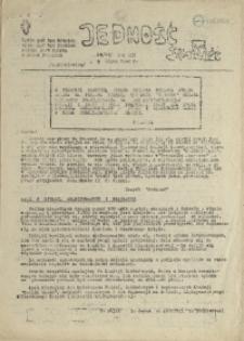 Jedność : Organ Międzyzakładowego Komitetu Strajkowego przy Stoczni im. Adolfa Warskiego. 1982 nr 20/80