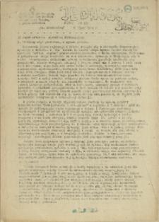 Jedność : Organ Międzyzakładowego Komitetu Strajkowego przy Stoczni im. Adolfa Warskiego. 1982 nr 21/80