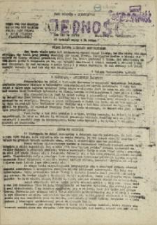 Jedność : Organ Międzyzakładowego Komitetu Strajkowego przy Stoczni im. Adolfa Warskiego. 1982 nr 33/93