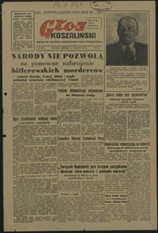 Głos Koszaliński. 1951, styczeń, nr 20