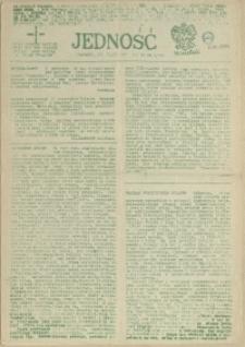 Jedność : Organ Międzyzakładowego Komitetu Strajkowego przy Stoczni im. Adolfa Warskiego. 1985 nr 5