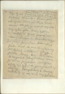Listy Stanisława Ignacego Witkiewicza do żony Jadwigi z Unrugów Witkiewiczowej. List z 02.02.1936.