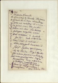 Listy Stanisława Ignacego Witkiewicza do żony Jadwigi z Unrugów Witkiewiczowej. List z 28.03.1936.
