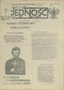 Jedność : Organ Międzyzakładowego Komitetu Strajkowego przy Stoczni im. Adolfa Warskiego. 1985