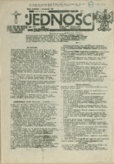 Jedność : Organ Międzyzakładowego Komitetu Strajkowego przy Stoczni im. Adolfa Warskiego. 1985 nr 15