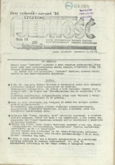 Jedność : Organ Międzyzakładowego Komitetu Strajkowego przy Stoczni im. Adolfa Warskiego. 1989 nr 3