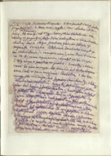 Listy Stanisława Ignacego Witkiewicza do żony Jadwigi z Unrugów Witkiewiczowej. List z 11.10.1936.