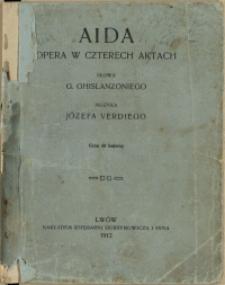 Aida : opera w czterech aktach