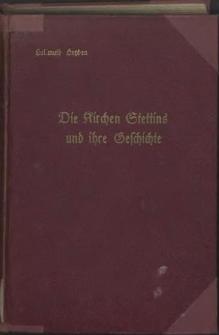 Die Kirchen Stettins und ihre Geschichte