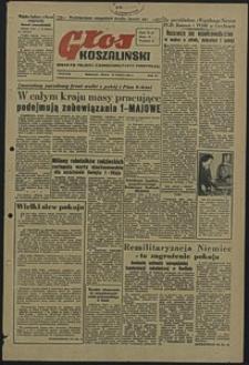 Głos Koszaliński. 1951, marzec, nr 84