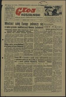 Głos Koszaliński. 1951, marzec, nr 86