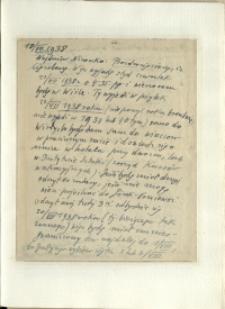 Listy Stanisława Ignacego Witkiewicza do żony Jadwigi z Unrugów Witkiewiczowej. List z 18.07.1938.
