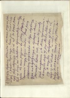 Listy Stanisława Ignacego Witkiewicza do żony Jadwigi z Unrugów Witkiewiczowej. List z 06.08.1939.