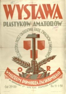 [Plakat] Wystawa Plastyków Amatorów