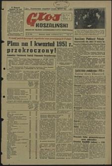 Głos Koszaliński. 1951, kwiecień, nr 107