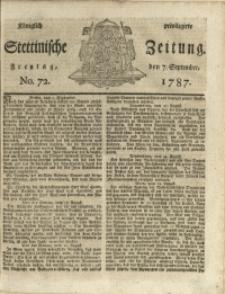 Königlich privilegirte Stettinische Zeitung. 1787
